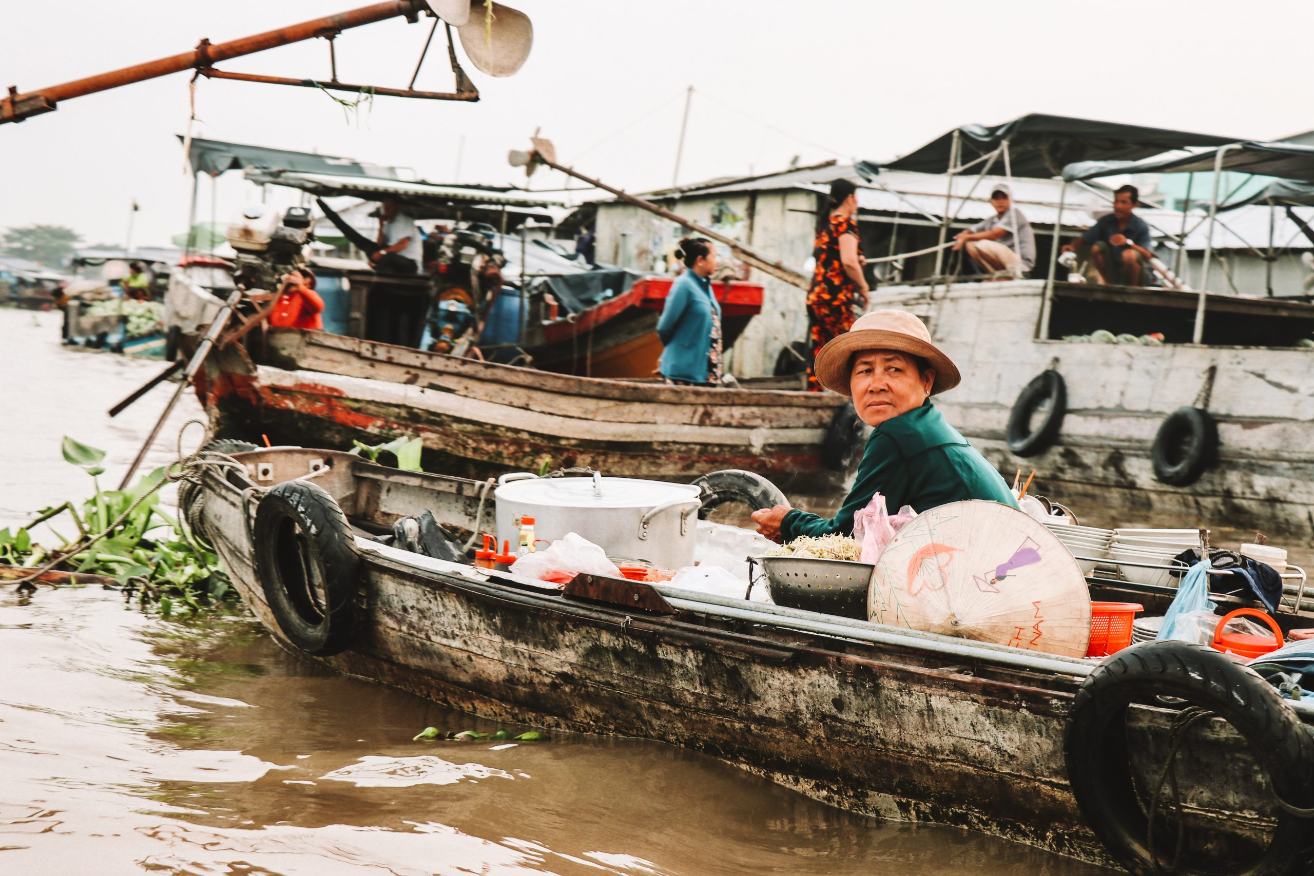 Exploring the Mekong Delta from Can Tho